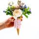 DIY zum Muttertag - Blumige Einladung