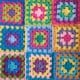 "Easy Peasy Basic Granny Square Muster & ""Join as you go""-Methode"