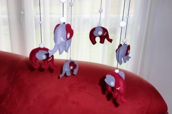 Elefantenmobile für Babys