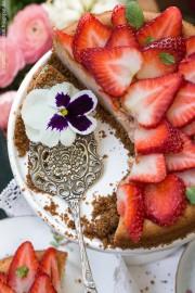 Erdbeer-Käsekuchen