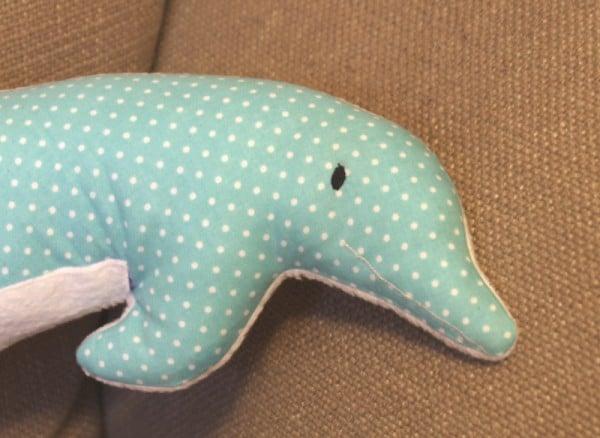 Freebook Kuschelkissen Delfin Handmade Kultur