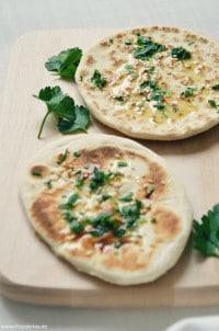 Indisches Naan Brot von den [Foodistas]