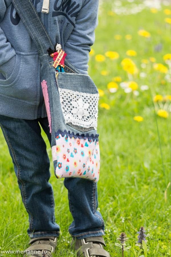 Jeans - Recycling für kleine Mädels