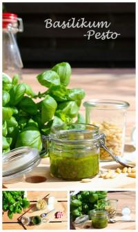 Frisch & lecker: Basilikum-Pesto