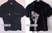 DIY alte Bluse Tutorial - Mach ein Glam-Up wie Galliano