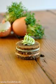 Paprika Matcha Taler von den [Foodistas]
