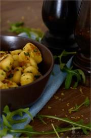 [Rezept] Gnocchi mit Rucola und Zitrone