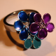 Ring mit filigranen Blüten