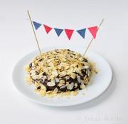 """Schoko-Mandel-Kuchen """"Reine de Saba"""" nach Julia Child"""