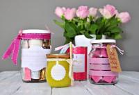 4 Geschenke zum Muttertag im Glas und in der Dose inkl. Freebies