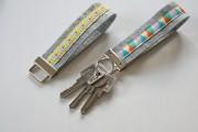 DIY Schlüsselanhänger aus Filz mit Webband