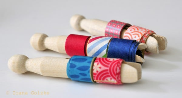DIY Tutorial - Selbstgemachtes Washi Tape - Easy-peasy!
