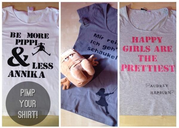 Mach`ein langweiliges T-Shirt zu DEINEM Shirt!