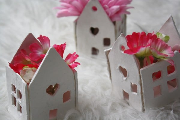 Blumen- /Kerzen Häuschen