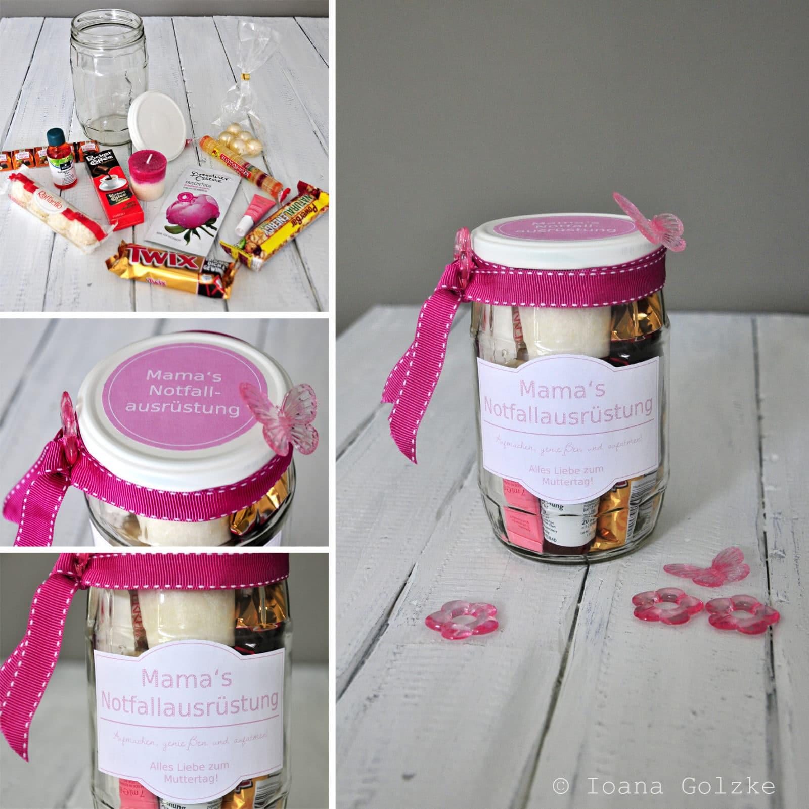 Geschenke Zum Muttertag Selber Machen : 4 geschenke zum muttertag im glas und in der dose inkl ~ Watch28wear.com Haus und Dekorationen