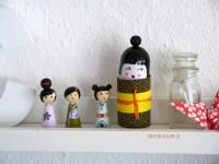 Kokeshi Dolls DIY