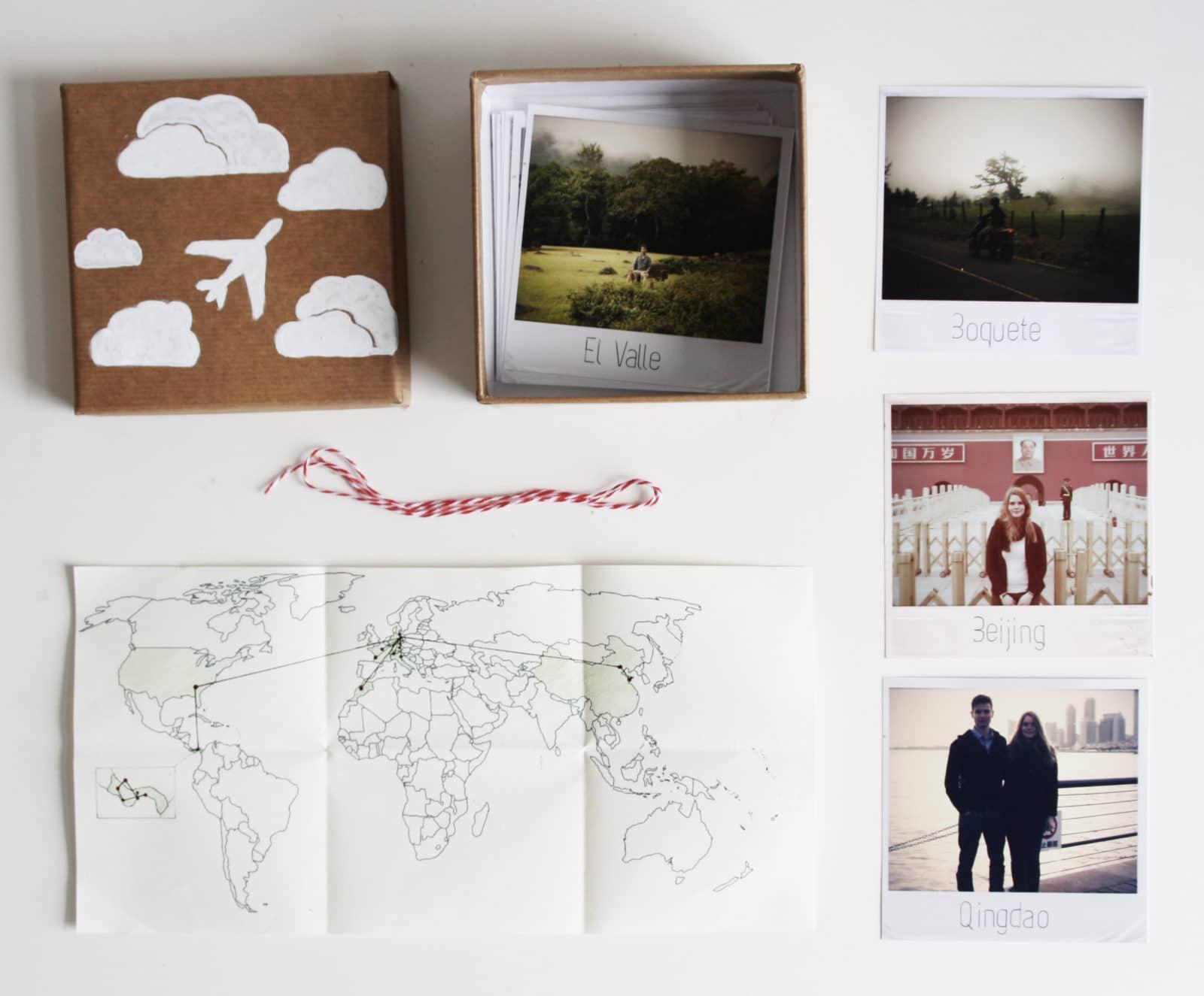 DIY Polaroid-Reise-Kiste - HANDMADE Kultur