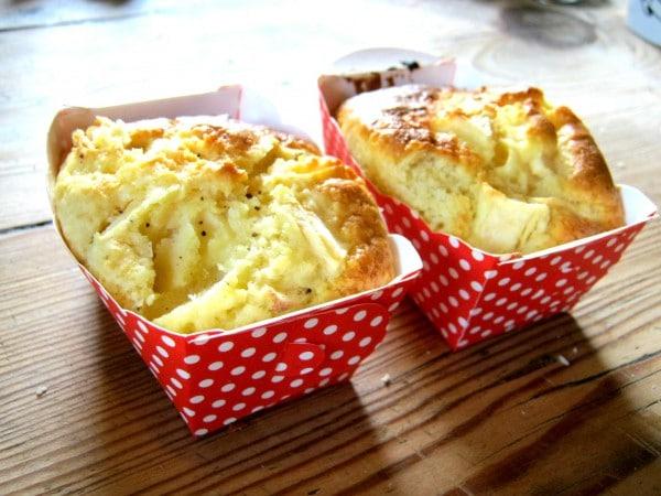 Apfel-Schmand-Küchlein: für ein perfektes Picknick!