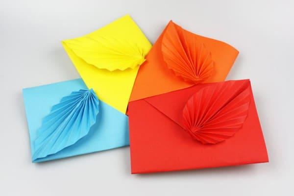 Dekorative Idee für Briefe