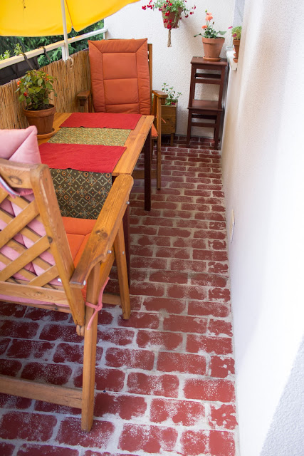 [DIY] Fußboden mit Ziegelstein Optik