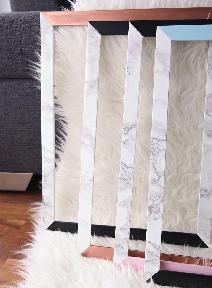farbige bilderrahmen bei tobeyoutiful handmade kultur. Black Bedroom Furniture Sets. Home Design Ideas