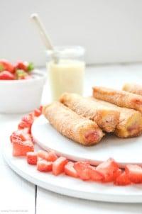 French Toast Roll Ups von den [Foodistas]