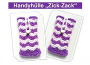 """Handy- und Smartphonehülle """"Zick-Zack"""""""