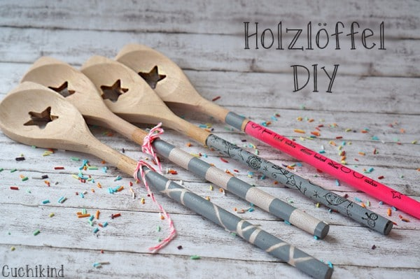 Holzlöffel DIY