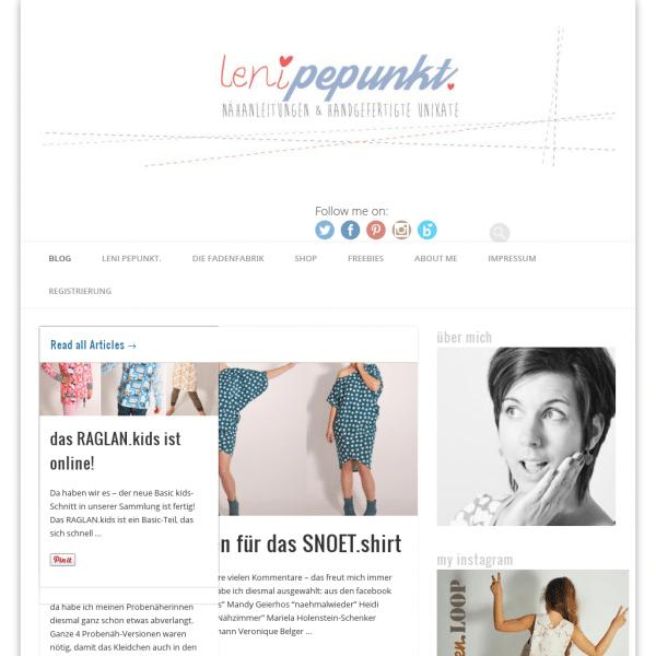 Kreativblog: leni pepunkt | diy - nähen für damen kinder kostenlose ...