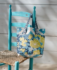 Flora Shopper - Blau