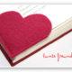 """Lesezeichen """"Heart"""""""