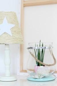 Lampe mit Beachfeeling