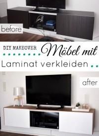 Möbel mit Laminat verkleiden auf Tobeyoutiful