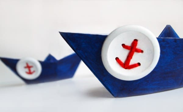 Maritime Anker-Knöpfe