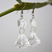 Ohrringe Kristalllüster hängend