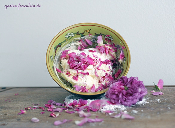 Rosenblütenbutter