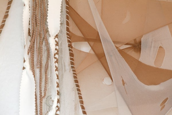 schmetterlingsfl gel aus alten strumpfhosen handmade kultur. Black Bedroom Furniture Sets. Home Design Ideas
