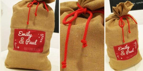 Tutorial WeihnachtsmannSack