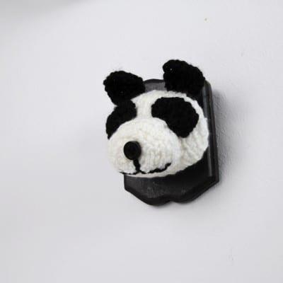 Wandtrophäe Pandabärkopf