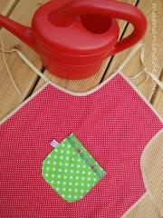 DIY Garten- & Küchenschürze für kleine Helferlein