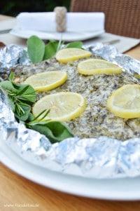 Fjordforelle mit Kräuter-Parmesan-Haube von den [Foodistas]