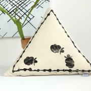 Selfmade Kissen mit Tierkoppel Druck