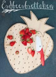 DIY Erdbeerbrettchen