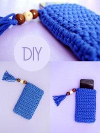 DIY: Süße Handy- oder Tablethülle häkeln