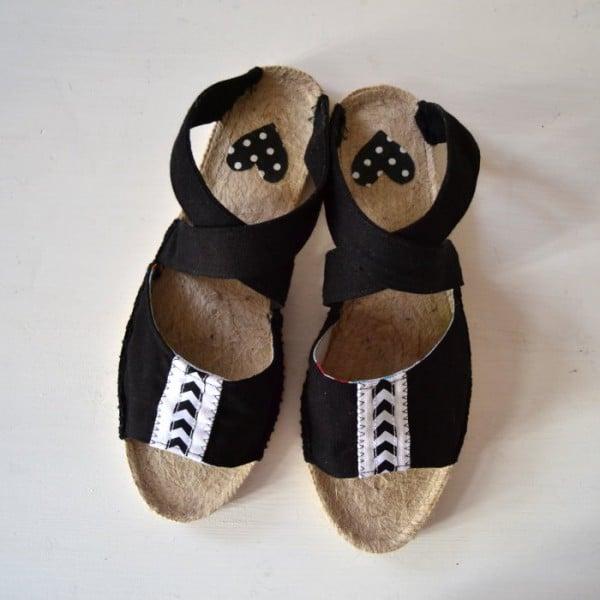 DIY Sandalen selbst machen mit Espandrilles Sohlen - Video Anleitung