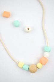DIY Sommerkette aus Fimo-Perlen