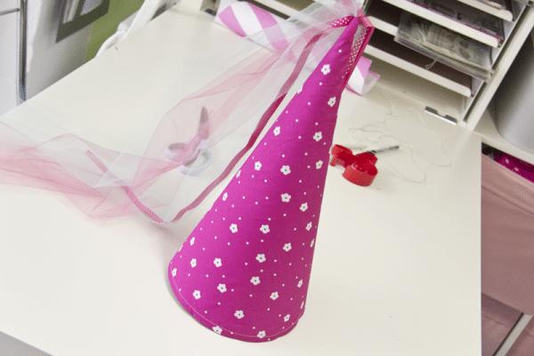 DIY: Spitztüte nähen - Prinzessinnenhut oder Schultüte schnell und einfach