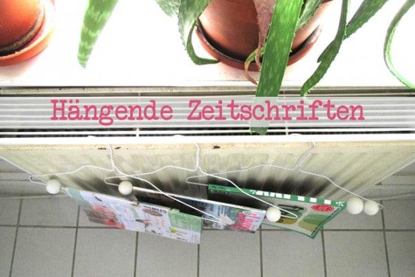 DIY-Zeitschriftenhänger