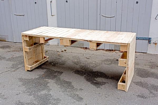 Gartentisch Aus Paletten Handmade Kultur