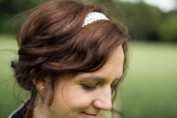 Gehäkelte Haarbänder